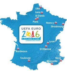 Kaarten EK 2016