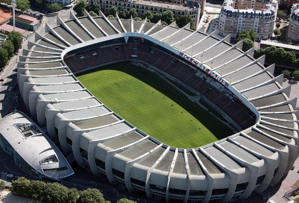 parc des princes voetbalstadion parijs