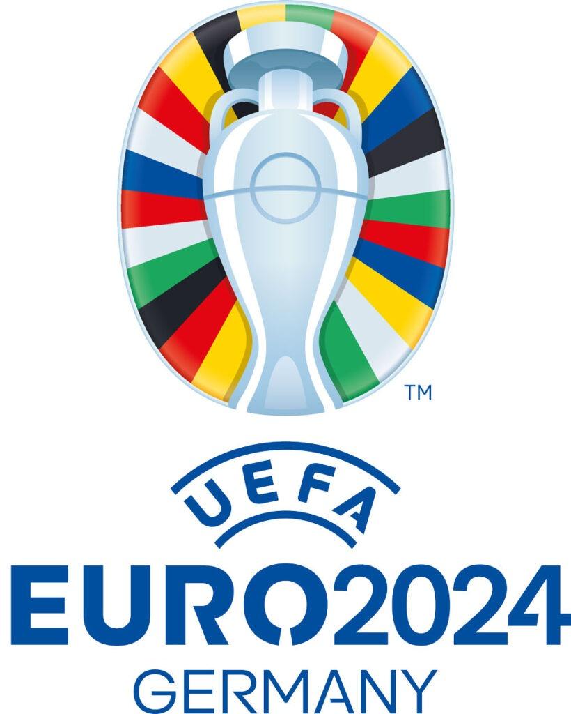 Logo EK 2024 voetbal in Duitsland